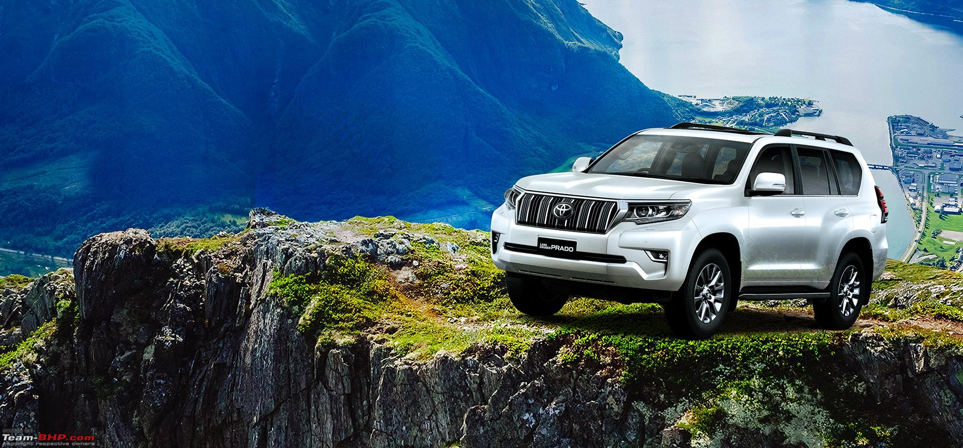 2018 Toyota Land Cruiser Prado launched at Rs  92 60 lakh
