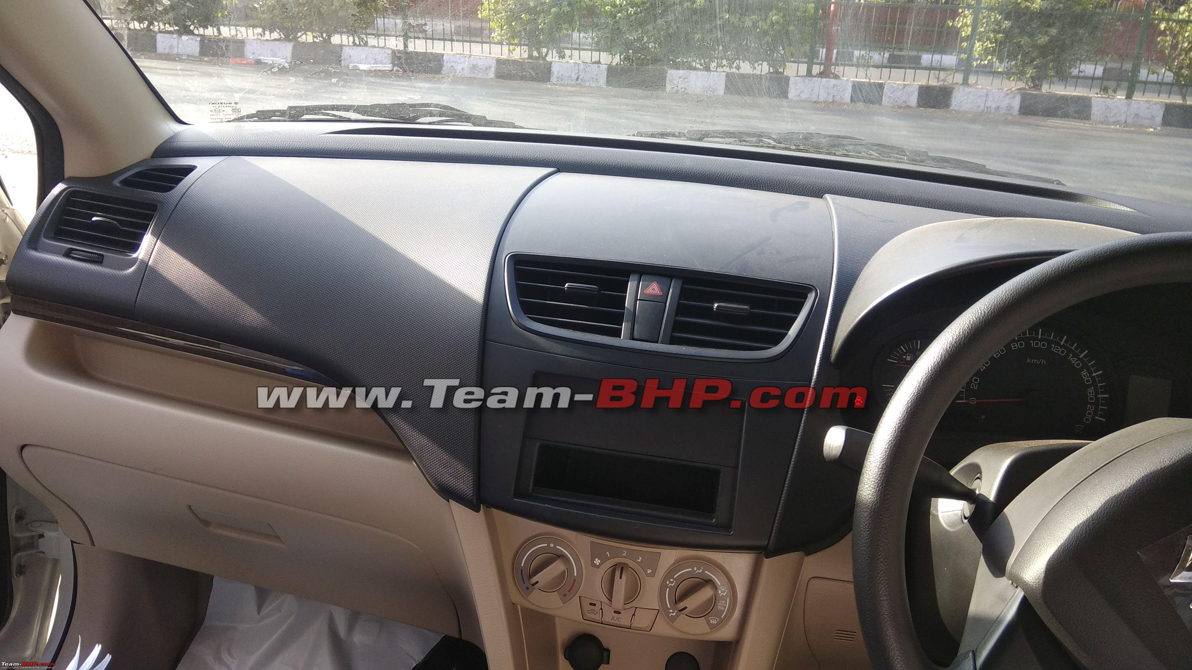 Maruti Dzire Tour S Cng Specifications Leaked Team Bhp