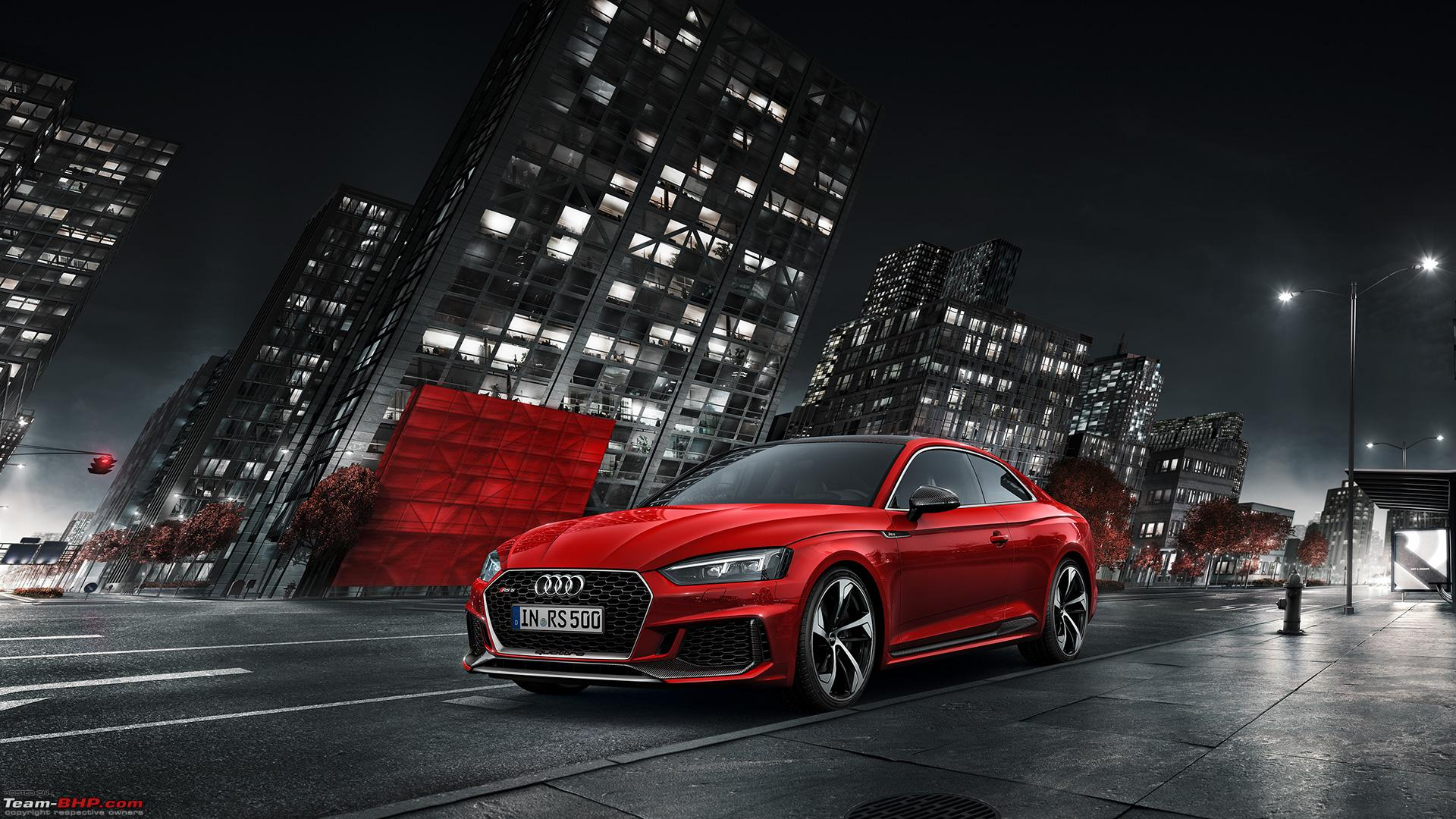 audi rs5 coupe launched at rs 1 1 crore team bhp. Black Bedroom Furniture Sets. Home Design Ideas