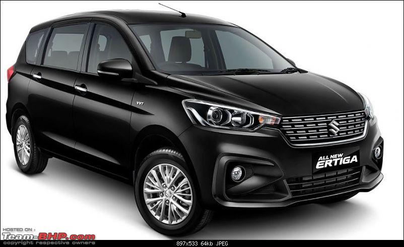 The 2018 next-gen Maruti Ertiga, now launched at Rs 7.44 lakhs-black.jpg