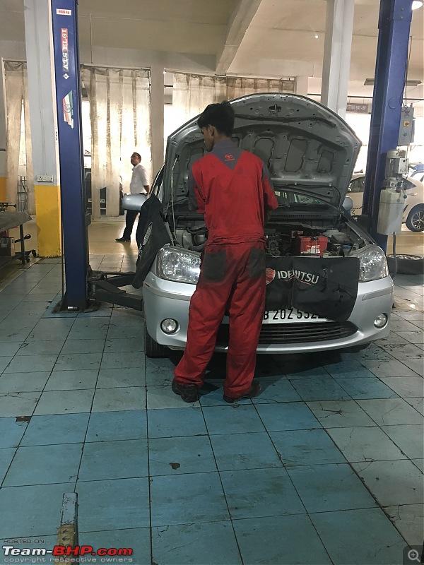 The Toyota Yaris. EDIT: Prices start at Rs. 8.75 lakh-img_8503.jpg