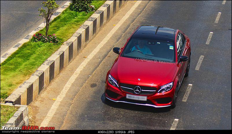 The Mercedes-AMG C43. EDIT: Launched @ 74.35 lakh-c43amg1.jpg
