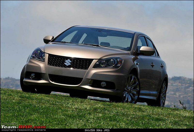 Kizashi partly revealed-Can Maruti (suzuki) pull it off in the D-segment?-suzuki-kizashi-front.jpg