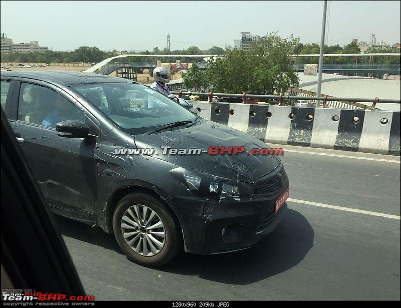 The Maruti Ciaz Facelift. EDIT: Now launched at ₹ 8.19 lakhs-a10.jpg
