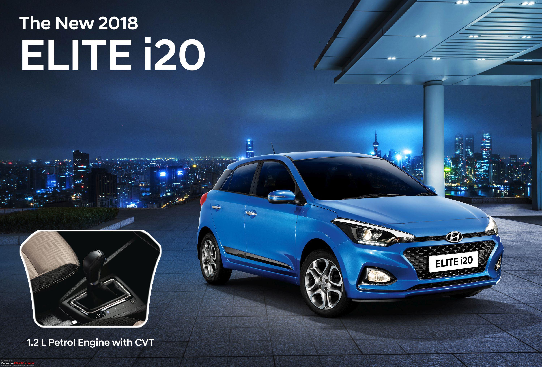 Hyundai Elite i20 CVT launched at Rs. 7.04 lakh-new-2018-elite