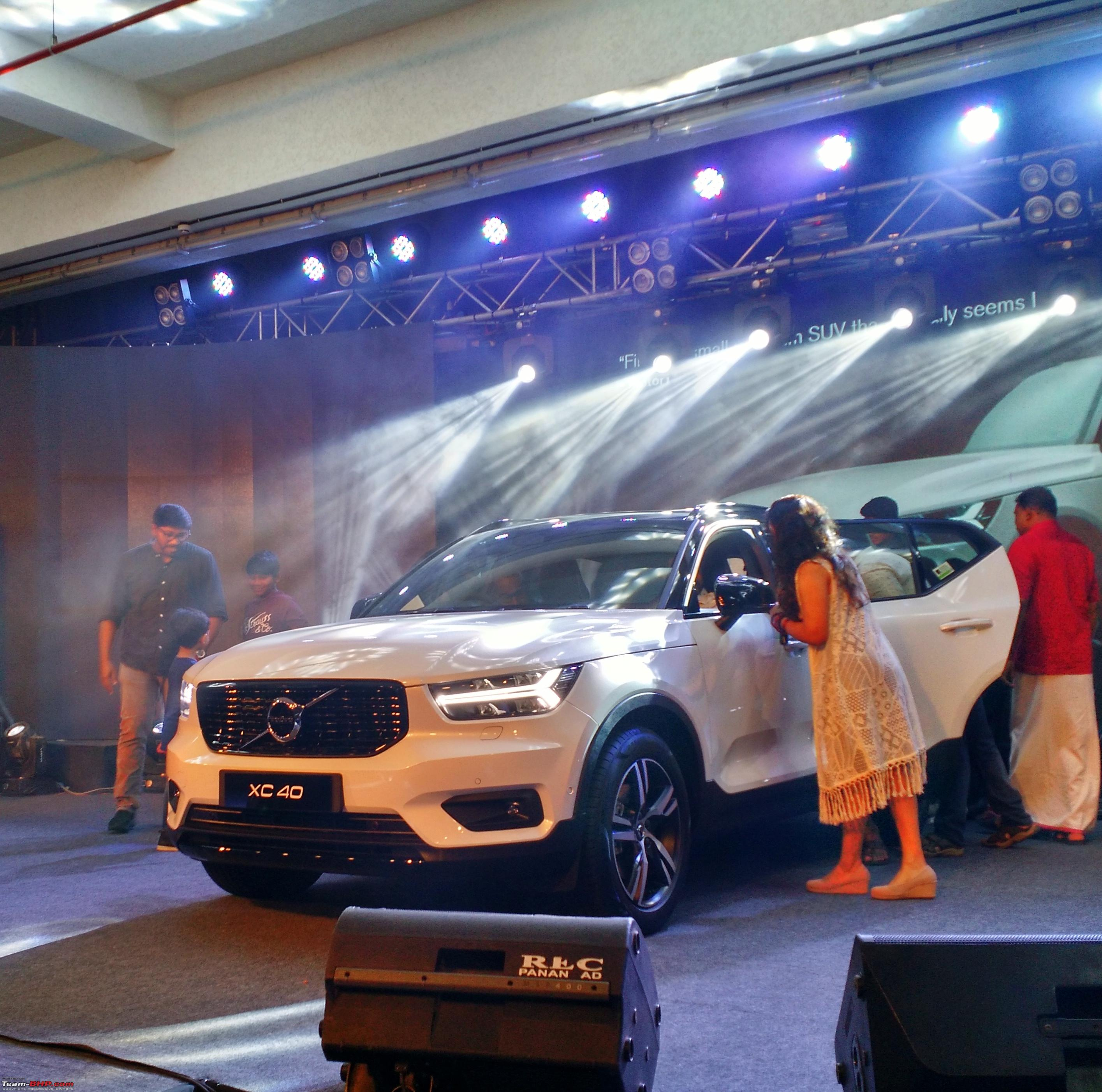 The Volvo Xc40 Suv Now Launched At 39 9 Lakhs Page 3 Team Bhp