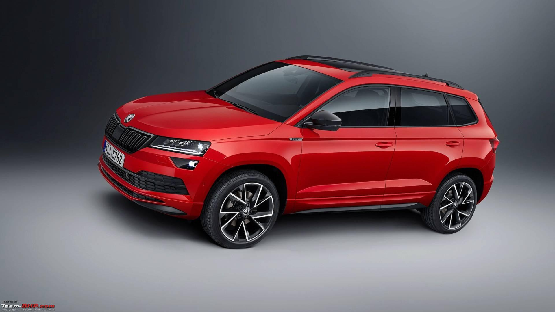 scoop skoda karoq suv caught in india page 2 team bhp. Black Bedroom Furniture Sets. Home Design Ideas