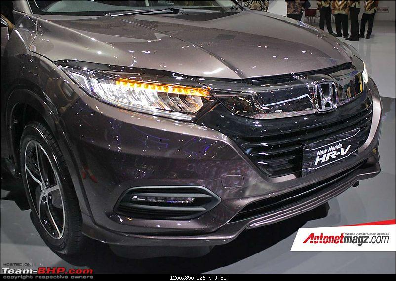 Rumour: Honda India to launch HR-V-2018hondahrvfaceliftfrontgiias2018.jpg