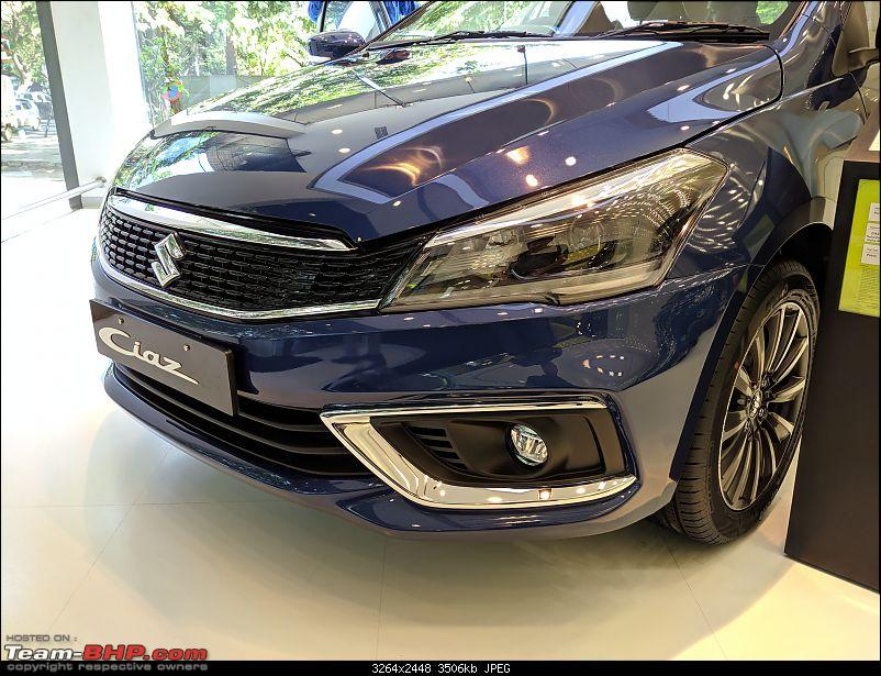 The Maruti Ciaz Facelift. EDIT: Now launched at ₹ 8.19 lakhs-img_20180830_154956.jpg
