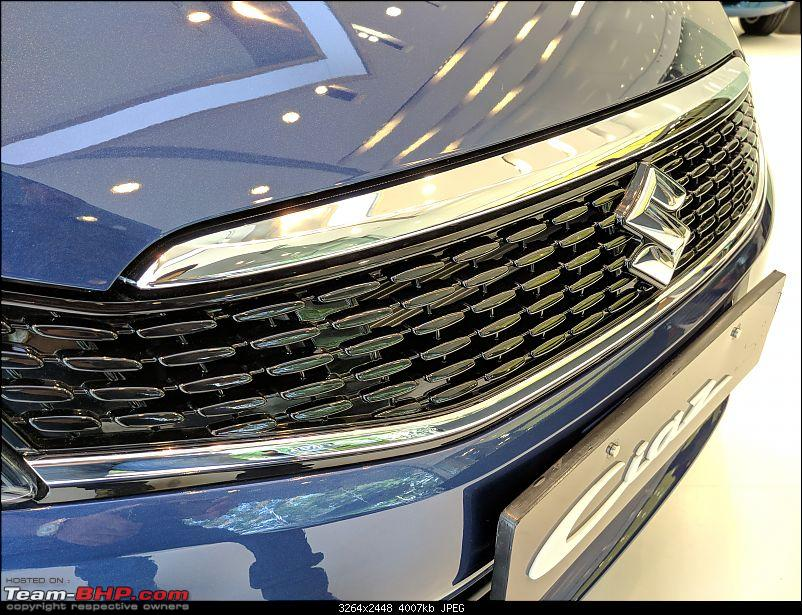 The Maruti Ciaz Facelift. EDIT: Now launched at ₹ 8.19 lakhs-img_20180830_160256.jpg
