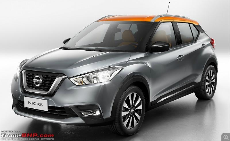 The Nissan Kicks Crossover. EDIT: Launched at Rs. 9.55 lakhs-kicks.jpg