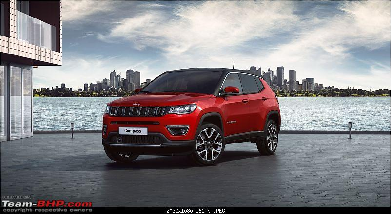 The Jeep Compass Limited Plus. EDIT: Launched at Rs 21.07 lakhs-compass.jpg