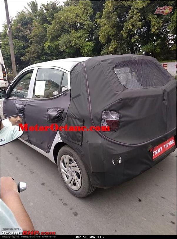 Next-Gen Hyundai i10 spotted testing in India. EDIT : Now launched as Grand i10 NIOS at Rs 5 Lakhs-grandi102019.jpg