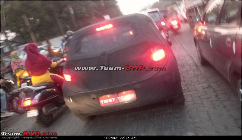 Next-Gen Hyundai i10 spotted testing in India. EDIT : Now launched as Grand i10 NIOS at Rs 5 Lakhs-4.jpg