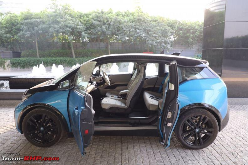 Bmw I3 Spotted Testing In India Team Bhp