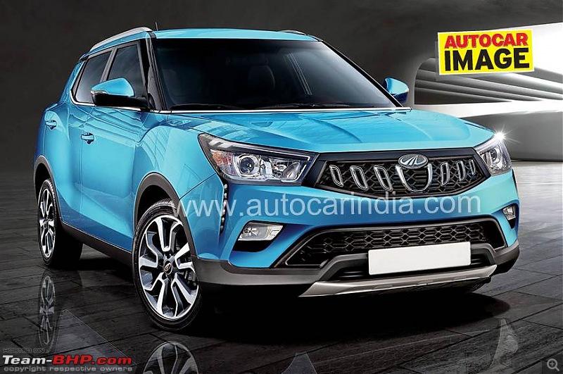 The Mahindra XUV300, aka Ssangyong Tivoli. Edit: Launched @ 7.9 lakhs-00.jpg