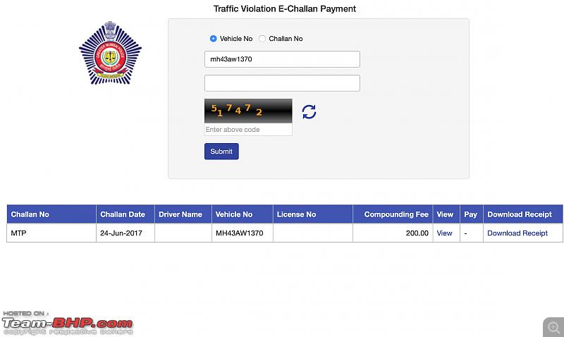 Mumbai Police's eChallans System for Traffic Violations. EDIT: Now Maharashtra-wide-screenshot-20181107-11.29.36-am.png