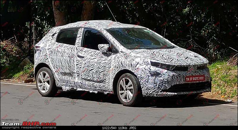 Tata developing a premium hatchback, the Altroz. Edit: Launched at 5.29 lakh.-tata45xpremiumhatchbackspied21022.jpg