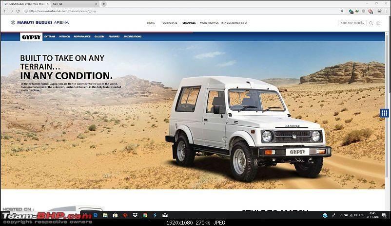 End of an era: Maruti Gypsy bookings to be officially closed from December 2018-gypsy.jpg
