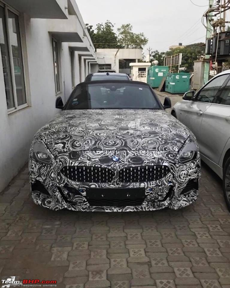 2019 Bmw Z4: 3rd-gen BMW Z4 Spotted In India