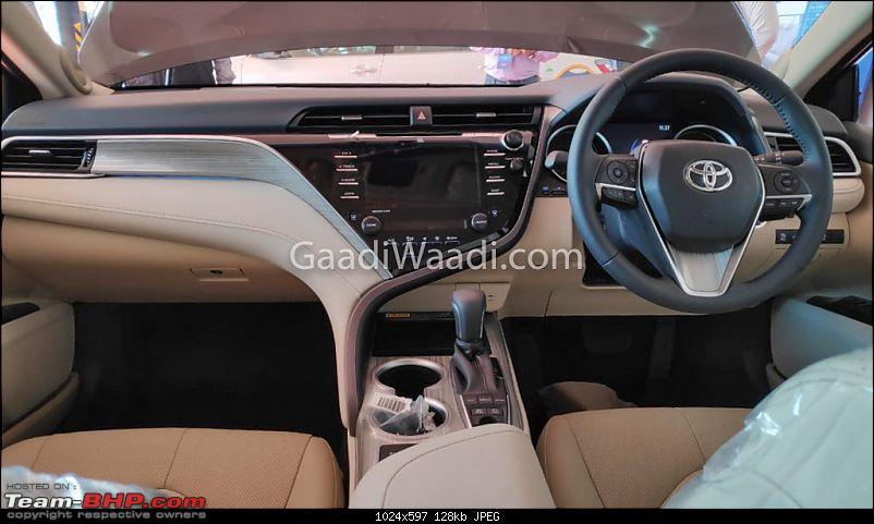 Next-gen Toyota Camry spotted testing in India EDIT: Launched at Rs. 36.95 lakhs-2-copy.jpg