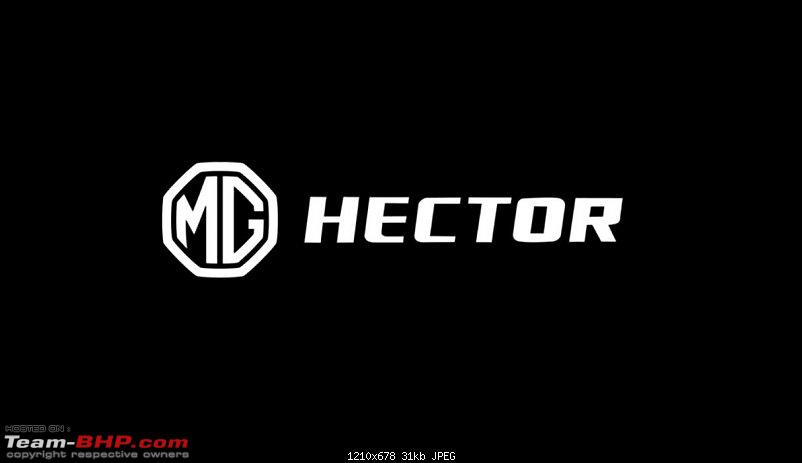 MG India's first SUV named Hector. Edit: Launched @ 12.18L-mg-hector.jpg