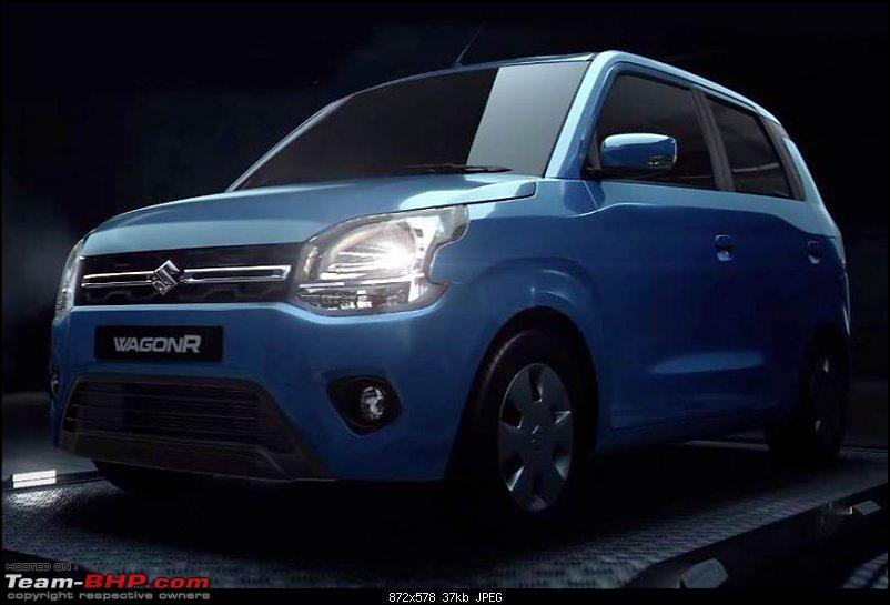 Next-gen Maruti WagonR spied. Edit: Launched @ Rs. 4.19 lakhs-1.jpg