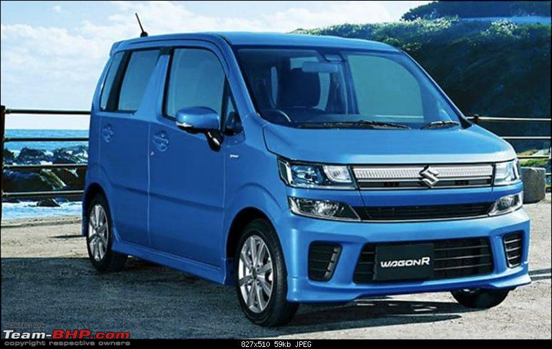 Next-gen Maruti WagonR spied. Edit: Launched @ Rs. 4.19 lakhs-wagonr1.jpg