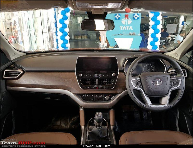 Tata H5X Concept @ Auto Expo 2018. Named Tata Harrier! EDIT: Launched @ Rs. 12.69 lakhs-7-dashboard.jpeg