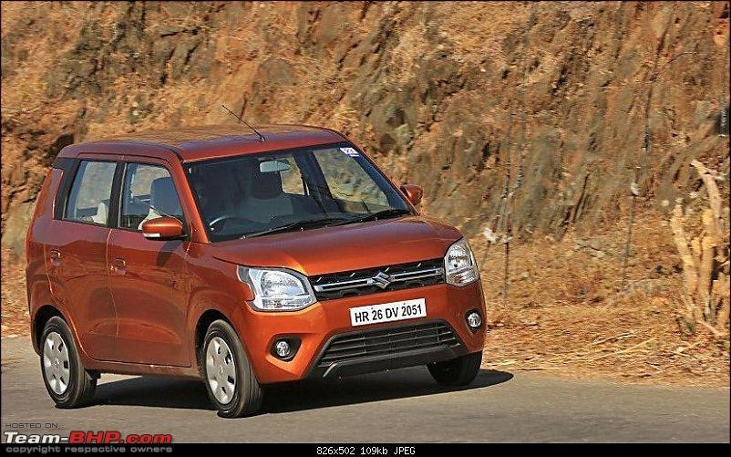 Next-gen Maruti WagonR spied. Edit: Launched @ Rs. 4.19 lakhs-3.jpg