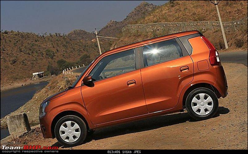 Next-gen Maruti WagonR spied. Edit: Launched @ Rs. 4.19 lakhs-6.jpg