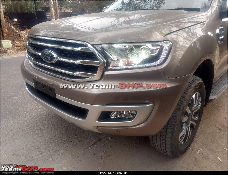 Ford Endeavour facelift launch in early 2019. EDIT: Spotted in India-7.jpg