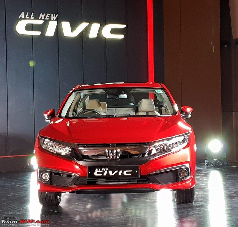 Scoop: Honda Civic Spotted Testing In India!