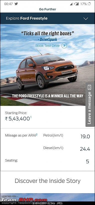 Scoop! Ford Figo facelift spotted. EDIT: Launched @ Rs. 5.15 lakhs-screenshot_20190315004737.jpg