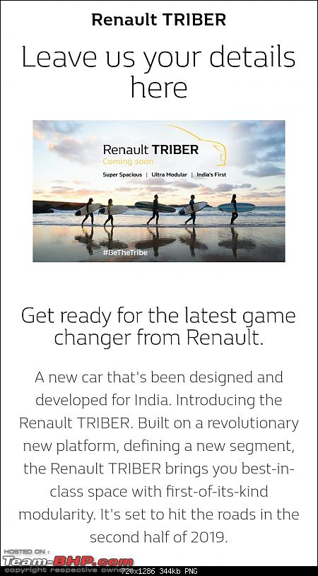 Renault Triber, the Kwid-based MPV. EDIT : Launched at Rs. 4.95 lakhs-screenshot_20190404160316.png