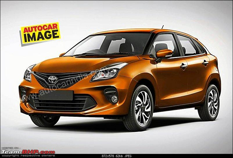 Toyota Glanza (rebadged Maruti Baleno). EDIT: Launched @ Rs 7.22 lakh-1.jpg