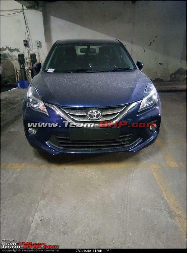 Toyota Glanza (rebadged Maruti Baleno). EDIT: Launched @ Rs 7.22 lakh-2.jpg