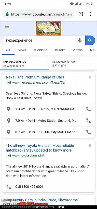 Toyota Glanza (rebadged Maruti Baleno). EDIT: Launched @ Rs 7.22 lakh-screenshot_20190518132836.jpg