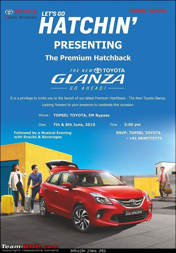 Toyota Glanza (rebadged Maruti Baleno). EDIT: Launched @ Rs 7.22 lakh-glanza-invite.jpg
