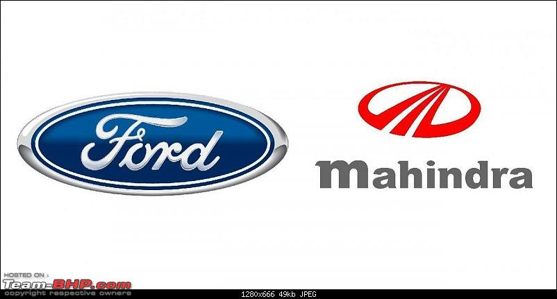 Ford to end independent operations in India; will hold 49% in JV with Mahindra-mahindraford.jpg