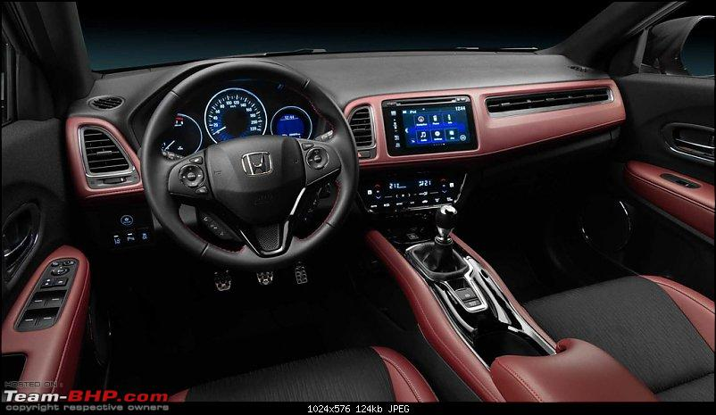 Rumour: Honda India to launch HR-V-2019hondahrvsportinterior.jpg