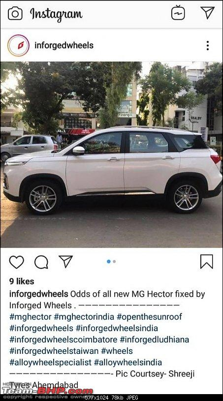 MG India's first SUV named Hector. Edit: Launched @ 12.18L-1563696707309.jpg