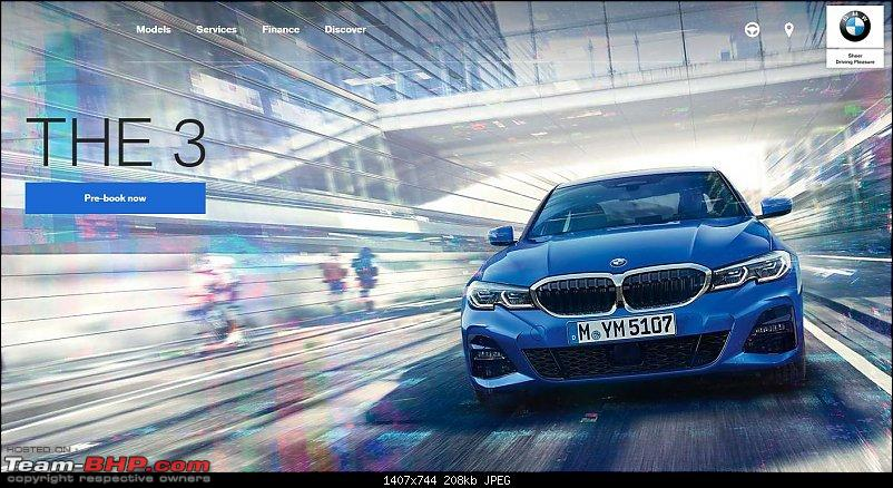 7th-gen BMW 3-Series launch by mid-2019 EDIT : Now launched at Rs. 41.40 lakhs-3-series-booking.jpg