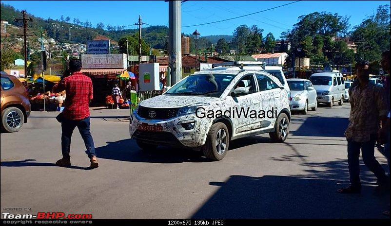 Tata Nexon Facelift spied. EDIT: Launched at Rs 6.95 lakh-tatanexonspied2.jpeg