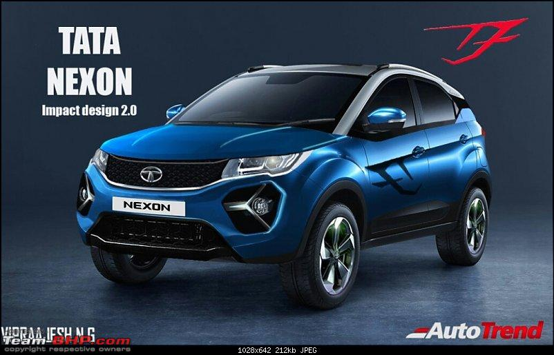 Tata Nexon Facelift spied. EDIT: Launched at Rs 6.95 lakh-img_20190815_211752.jpg