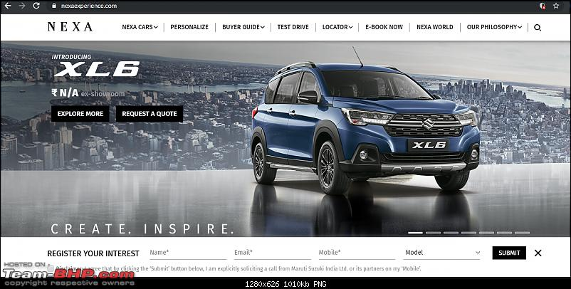 Maruti Suzuki to launch a premium MPV. Update: XL6 launched @ Rs. 9.80 lakhs-xl6.png