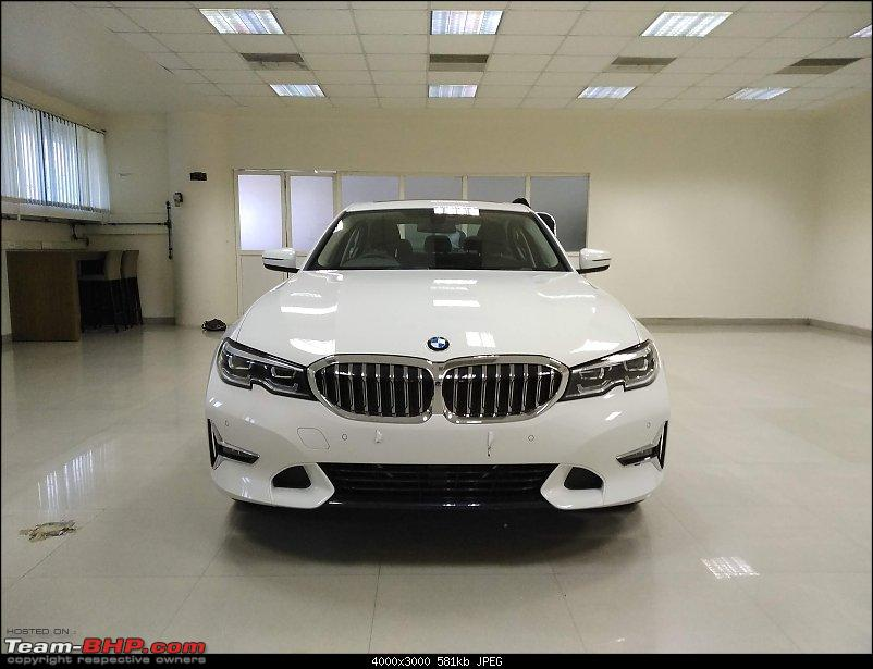 7th-gen BMW 3-Series launch by mid-2019 EDIT : Now launched at Rs. 41.40 lakhs-bmwg20_front_white.jpg