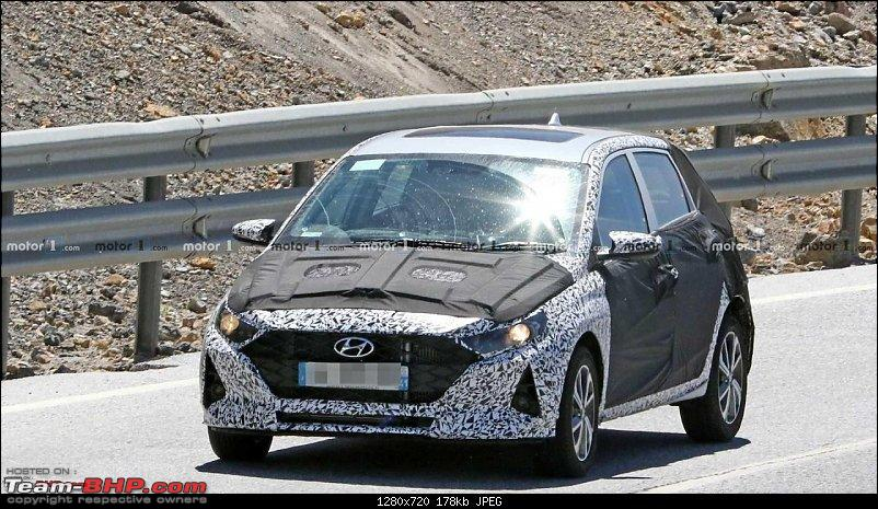 Third-gen Hyundai i20 spotted testing in Chennai. Edit: Launched at 6.79 lakhs-i20.jpg