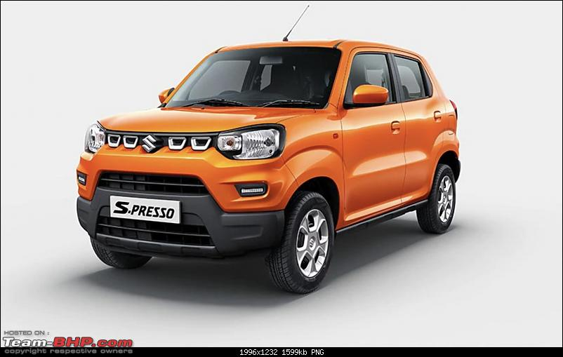 Maruti S-Presso, the SUV'ish hatchback. EDIT : Launched at Rs. 3.69 lakhs-spresso.png