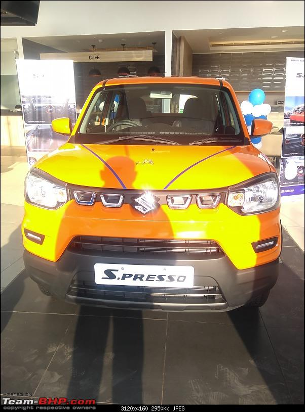 Maruti S-Presso, the SUV'ish hatchback. EDIT : Launched at Rs. 3.69 lakhs-img_20191005_163727001.jpg
